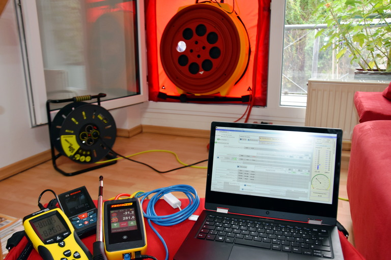 blowerdoor equipment
