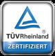TÜV-Zeritifizierungslogo für Messdienstleister